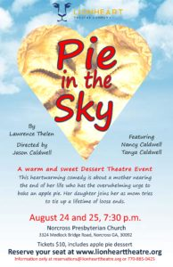 Pie in the Sky at Lionheart Theatre