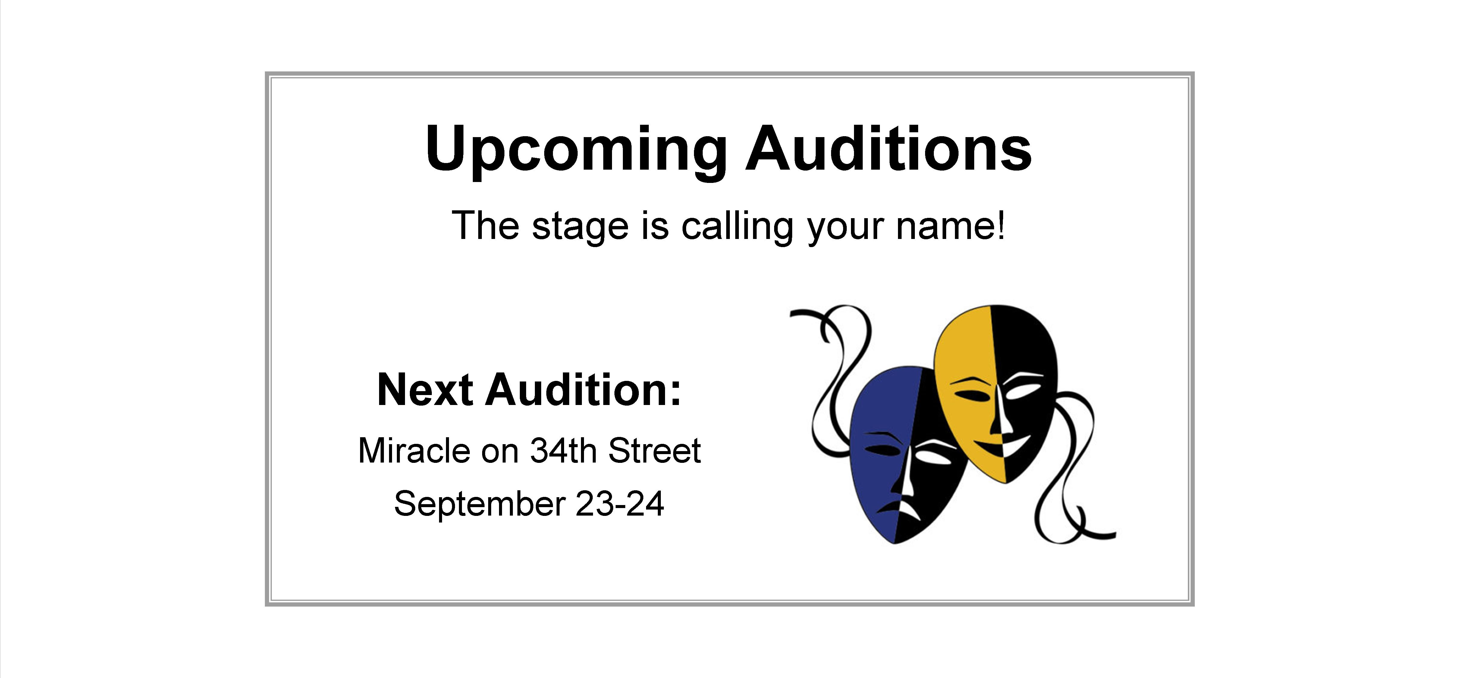 Upcoming Lionheart Auditions in Norcross