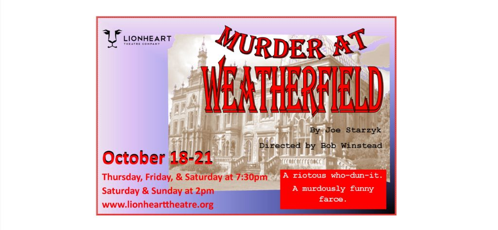 Lionheart Theatre's Murder at Weatherfield