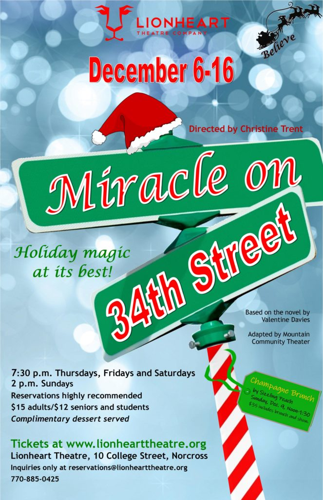 Miracle on 34th Street at Lionheart Theatre
